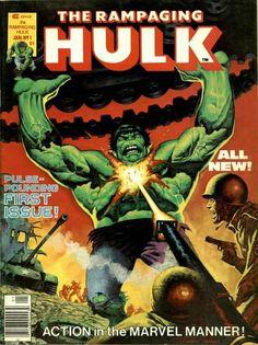 Rampaging Hulk # 1 by Ken Barr