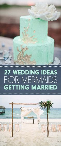 27 Ocean-Themed Wedding Ideas For People That Love Mermaids