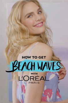 Want to get beach waves in time for summer? It's simple with our Undone Style Cream and Wave Swept Spray from our new AIR DRY IT Collection! See the full step-by-step tutorial here: https://www.lorealparisusa.com/beauty-magazine/hair-style/hairstyle-trends/beach-waves-trends-and-hairstyles.aspx