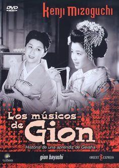 Los músicos de Gion (1953) Xapón. Dir: Kenji Mizoguchi. Drama. Prostitución - DVD CINE 1112