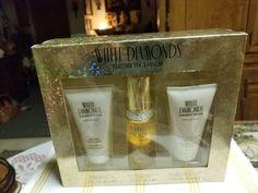 Elizabeth Taylor Women's Brilliant White Diamonds Gift Set & Oz New 719346642392 Perfume Sets, Elizabeth Taylor Jewelry, Dimonds, White Diamonds, Gifts, Presents, Favors, Gift