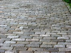 antique cobblestone patio - Google Search