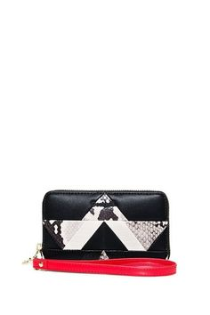 undefined Mini, Snake, Zip Around Wallet, Patches, Products, Fashion, Black Coach Purses, Animal Prints, Zippers
