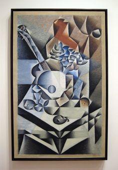 "Juan Gris, ""still life with flowers"" 1912"
