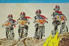 仮面ライダー  子供用自転車CM画像⁉