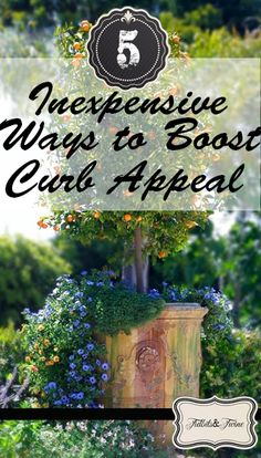 5 Inexpensive Ways to Boost Curb Appeal Fresco, Home Selling Tips, Front Yard Landscaping, Landscaping Ideas, Outdoor Projects, Outdoor Ideas, Diy Projects, Outdoor Decor, Pattern Mixing