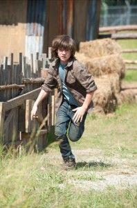 Chandler Riggs as Carl Grimes on The Walking Dead - season 4, 2013 #TheWalkingDead