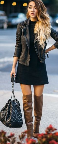 Not Jess Fashion Camel Leather Boots Fall Inspo