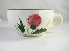 Vintage cup hand painted Stangl pottery made in by FeliceSereno, $5.00