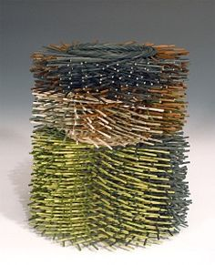 """""""building structure and surface"""" (one of my baskets)"""