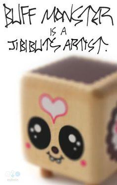 Buff Monster is a Jibibuts artist! Designer Toys