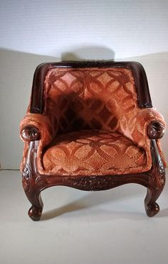 Victorian Barrel Chair ~ child or doll size