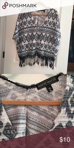 Boho flowy tassel shirt size M - EUC In excellent condition Tops