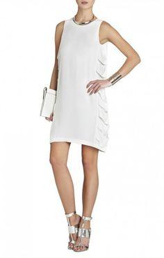 $175.00 BCBG EREN CUTOUT SLEEVELESS DRESS