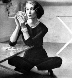 Evelyn Tripp 1951 Vogue US
