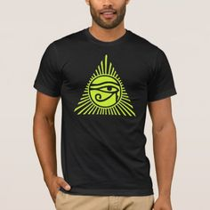 Eye of Ra T-Shirt - tap, personalize, buy right now! Eye Of Ra, Eye Of Horus, American Apparel, Fitness Models, Rising Sun, Unisex, Eyes, Egyptian, Mens Tops