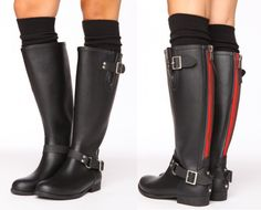 Steve Madden Rain Boots - Because it's gonna rain this weekend in London... Show Must Go On!