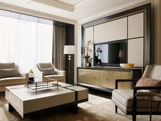 Suites At The Ritz Carlton | Munge Leung. Love this style, colours and arrangement..