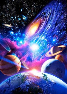 Astronomy - outer space, space, universe, stars, planets, nebulas, galaxies #MaVi
