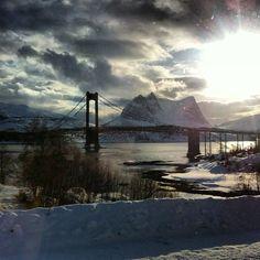 Efjorden, Ballangen kommune, Norway