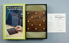 Vintage 1964 Brown and Bigelow Stancraft Products Hoyle Bullseye Puzzler Game