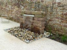 Gartenmauer selber bauen - Das Errichten einer Betonsteinmauer ...