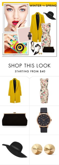 """Winter to Spring"" by miskamalecova ❤ liked on Polyvore featuring Lipsy, 3.1 Phillip Lim, Monsoon, Marc by Marc Jacobs, Topshop and Eddie Borgo"