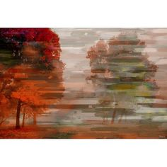 Found it at Wayfair.co.uk - Fall Graphic Art Wrapped on Canvas
