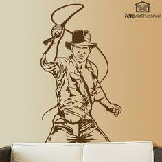Vinilo decorativo Indiana Jones