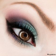 A dark emerald shadow will give your eyes a magical feel. Wear this makeup out for girls' night or to a hot date.