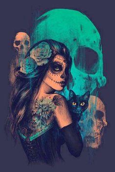#Skulls #SugarSkull