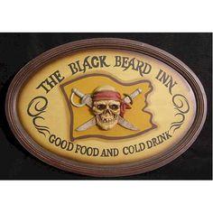 Black Beard Inn, Pirate sign