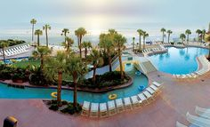 Daytona Beach Outdoor Pool - Wyndham Ocean Walk