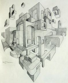 two point perspective in video game design - Google Search
