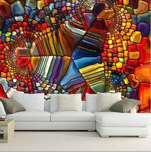 Die neueste 3D wallpaper, Abstraktion Textur 3d-grafik tapeten, TV wand wohnzimmer sofa schlafzimmer wand papier(China (Mainland))