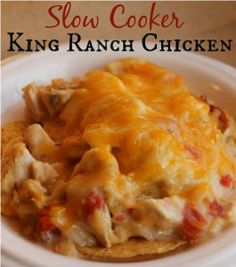 King Ranch Chicken- weeknight meal.