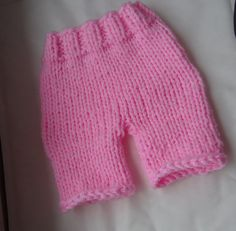 Newborn Knit Diaper Cover
