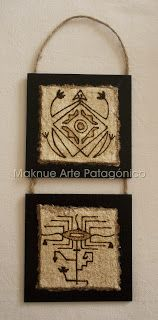 Maknue Arte Patagónico Contemporary Art Daily, Contemporary Artists, Tribal Art, Rock Art, Crafts To Make, Decoupage, Christmas Crafts, Weaving, Pottery