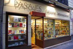 PASAJES Librería internacional · Génova 3, Madrid