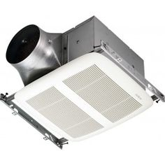 Broan XN80 ULTRA GREEN Ceiling Mounted Bath Fan with Reducer In White