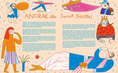 Illustrations for cover and feature to new issue of Anorak magazine. The happy mag for kids! http://www.anorakmagazine.com/blog/a-new-issue-is-here-1.html http://instagram.com/p/v-tVWcMUa_/?modal=true