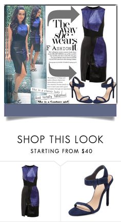 """""""Shraddha Kapoor"""" by fatimahkk ❤ liked on Polyvore featuring Prabal Gurung and Pure Navy"""