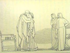 Incontro Ulisse Penelope ( libro XXIII)