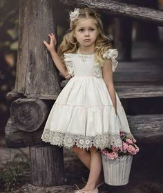 That Darling Dress by Irina Chernousova Cute Flowergirl Dresses for Bridesmaids at Your WeddingBeautiful dresses for girls year: the best ideas images for young princessesImage may contain: 1 person Dresses Kids Girl, Cute Dresses, Kids Outfits, Flower Girl Dresses, Lace Flower Girls, Beautiful Dresses, Fashion Kids, Little Girl Fashion, Toddler Dress