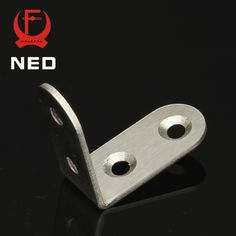 NED 10pcs 40x40x20mm Practical Stainless Steel Corner Brackets Joint Fastening Right Angle 2MM Thickened Brackets For Furniture #jewelry, #women, #men, #hats, #watches, #belts, #fashion