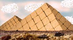 Matéria: Redação Publicitária. FoodsCapes: Paisagem de Alimentos: foi usado apenas cereais para a construção dessa foto.  2º CSPP
