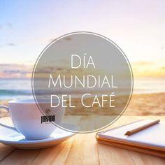 Celebramos el #DíaInternacionaldelCafé con un relajante momento con vistas al mar ☕☀ #CoffeDay #CoffeeLovers #CoffeeMoments #CaféJurado #CafeJurado #Jurado #Desde1912 #Café