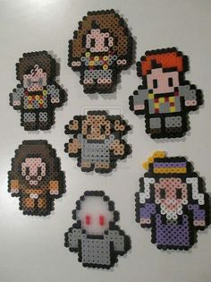 Hama/perler beads- Harry Potter themed