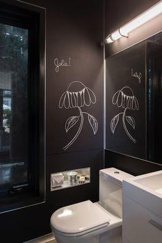 ornacina al bany Garden Pavillion, Blackboards, Cubbies, Pavilion, Mid-century Modern, Interior Design, Storage, Bathroom Ideas, Bathrooms