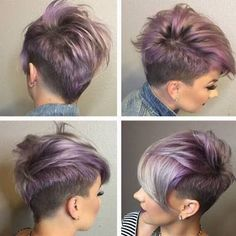 girls shaved hair cut - Google Search